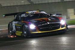#1 黑凖车队梅赛德斯SLS AMG:卡里德·阿尔库巴西、耶隆·布里克莫伦、马洛·恩格尔