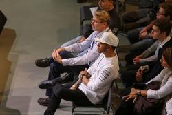 Lewis Hamilton, Mercedes AMG F1 and Mika Häkkinen