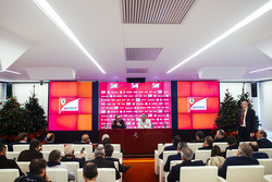 Ferrari end of year press conference