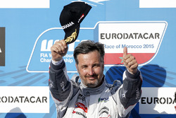 Podium: winner Yvan Muller, Citroën C-Elysee WTCC, Citroën World Touring Car team