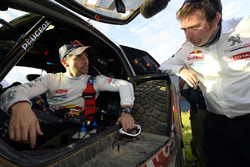 #314 Peugeot: Sèbastien Loeb with Bruno Famin, head of Peugeot Sport