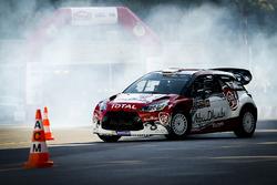 Khalid Al-Qassimi, Citroën DS3 gives VIP rides