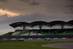 夕阳下的周五测试,#99 欧亚车队LMP2赛车