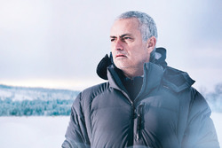José Mourinho drives the  Jaguar F-Pace