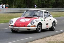 #40 Porsche 911 T 1968: Dominique Moorkens, Eric De Seynes