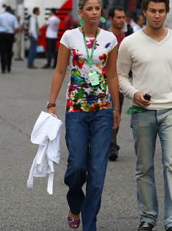 Timo Glock, Toyota F1 Team, girlfriend