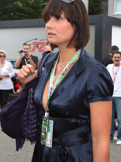 Franziska van Almsick, ex Swimmer