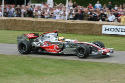 Lewis Hamilton, 2007 McLaren Mercedes MP4/22