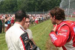 Robbie Pecorari, Richard Antinucci and Logan Gomez discuss their accident on the track