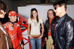 Casey Stoner and Tom Cruise