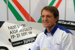 Piercarlo Ghinzani, Seat Holder A1 Team Italy