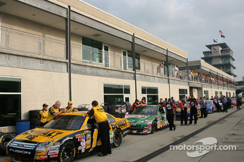 Tech inspection line up