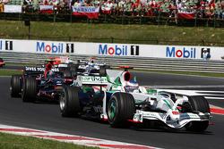 Jenson Button, Honda Racing F1 Team, RA108 leads Sebastian Vettel, Scuderia Toro Rosso, STR03