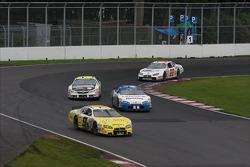 Patrick Carpentier, Scott Pruett, Jacques Villeneuve and Andrew Ranger