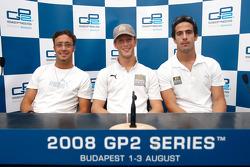 Romain Grosjean, Andreas Zuber, Lucas di Grassi
