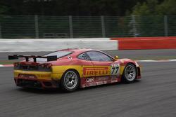 #77 BMS Scuderia Italia Ferrari F430: Matteo Malucelli, Paolo Ruberti, Joel Camathias, Davide Rigon