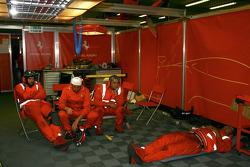 Kessel Racing crew members