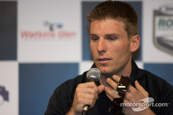 Crown Royal press conference: Jamie McMurray