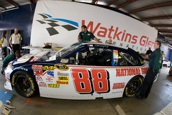 NASCAR-CUP: National Guard AMP Energy Chevy at tech inspection