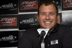 Ryan Newman during the Stewart Hass Team announcement for his addition to the team in 2009