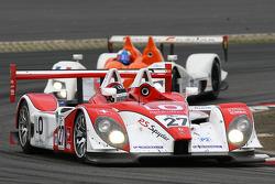 #27 Horag Racing Porsche RS-Spyder: Fredy Lienhard, Didier Theys, Jan Lammers