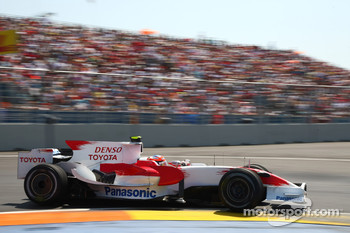 Timo Glock, Toyota F1 Team, TF108