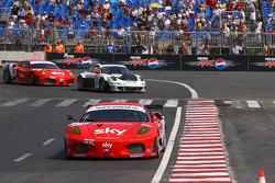 #56 CR Scuderia Ferrari 430: Andrew Kirkaldy, Rob Bell