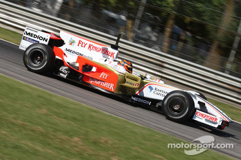 Vitantonio Liuzzi, Test Driver, Force India F1 Team, VJM-01