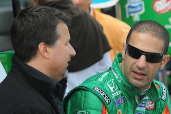 Michael Andretti and Tony Kanaan