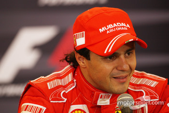 Post-qualifying press conference: second place Felipe Massa