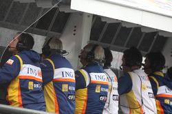 Renault F1 Team pitwall