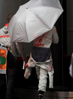 Lewis Hamilton, McLaren Mercedes, 15th on the grid