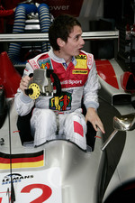 Oliver Jarvis tries the Audi Sport Team Joest Audi R10 TDI