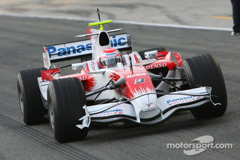 Kamui Kobayashi, Test Driver, Toyota F1 Team, TF108