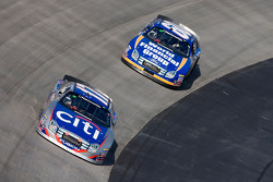 Jamie McMurray leads Carl Edwards
