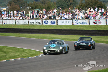 Tourist Trophy practice: 1961Aston Martin Project 212