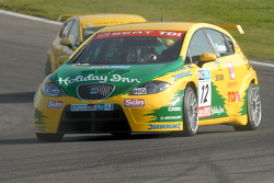 Darren Turner leads Jason Plato