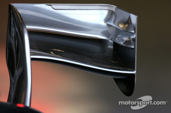 McLaren Mercedes wing detail