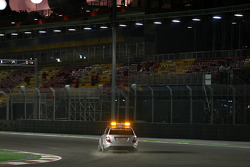 Safety Car on circuit