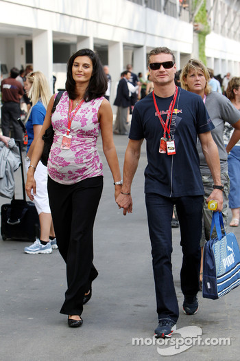 Karen Minier, Fiancée of David Coulthard, David Coulthard, Red Bull Racing