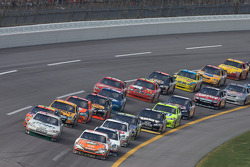 Dale Earnhardt Jr. and Mike Wallace lead the field