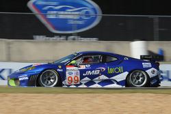 #99 JMB Racing Ferrar F430 GT: Ben Aucott, Pierre Kaffer, Stephan Dauodi