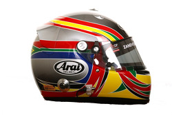 Adrian Zaugg, driver of A1 Team South Africa helmet