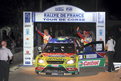 François Duval and Patrick Pivato, Ford World Rally Team Ford Focus RS WRC