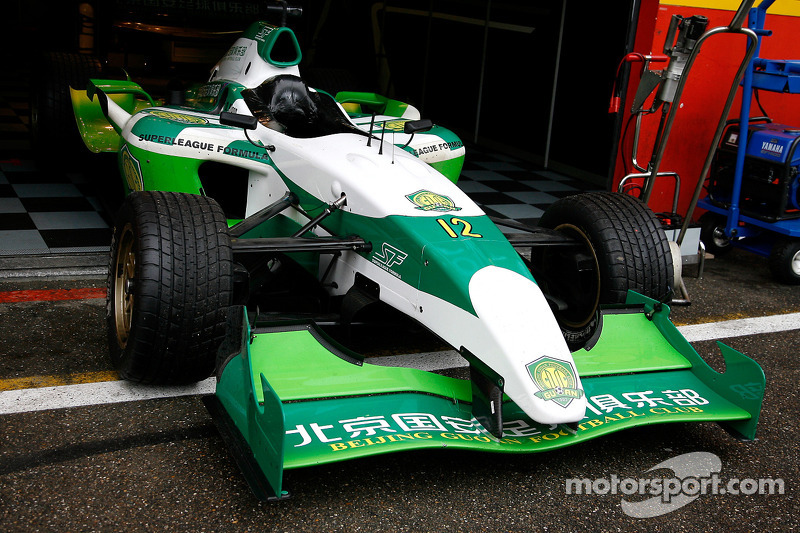The winning car, Beijing Guoan Zakspeed