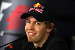 FIA press conference: Sebastian Vettel, Scuderia Toro Rosso