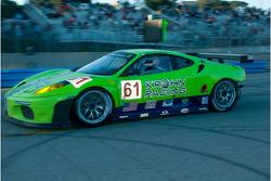 #61 Risi Competizione Ferrari F430 GT: Tracy Krohn, Nic Jonsson on pit lane