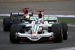 Jenson Button, Honda Racing F1 Team, RA108 leads Sébastien Bourdais, Scuderia Toro Rosso, STR03