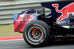 A detail at the RB4 of David Coulthard