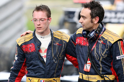 Sébastien Bourdais and race engineer Claudio Balestri